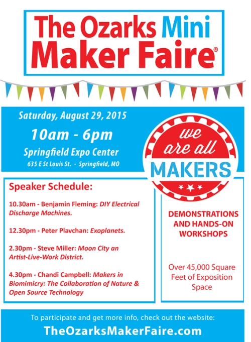 Maker Faire Flyer - Speakers small